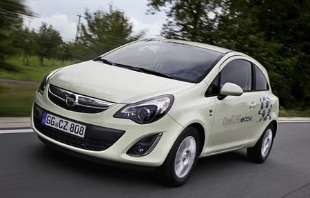 Opel Corsa con GLP