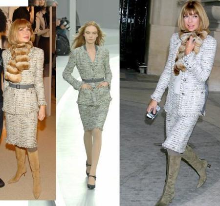 La otra obsesión de Anna Wintour: el traje de chaqueta de Chanel
