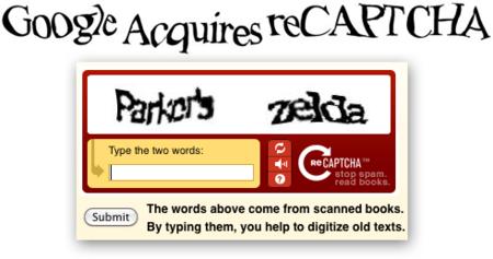 Google compra reCaptcha