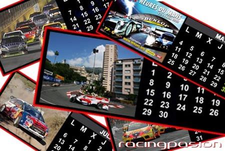 Agenda de competición: 12 - 13 de septiembre