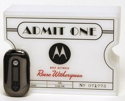 Motorola PEBL edición especial para los nominados a los Oscar