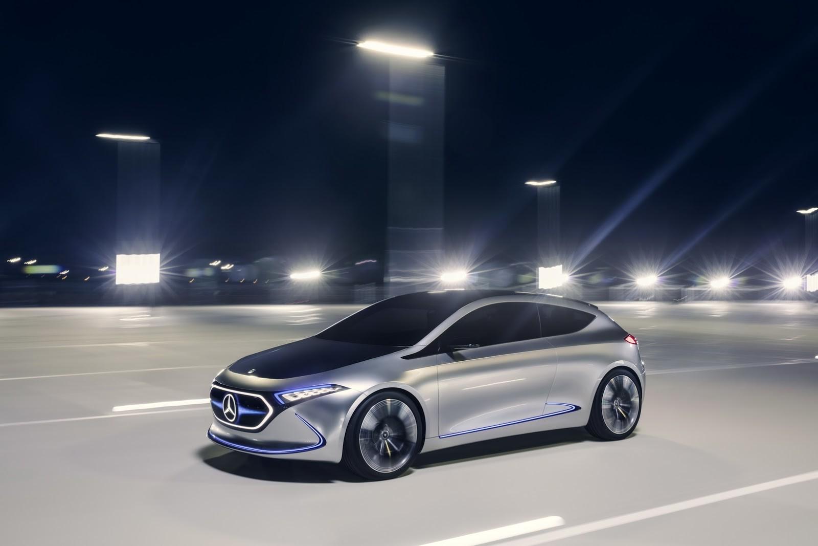 Foto de Mercedes-Benz EQ A Concept (10/15)