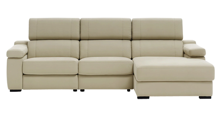 Sofá con chaise longue rebajado
