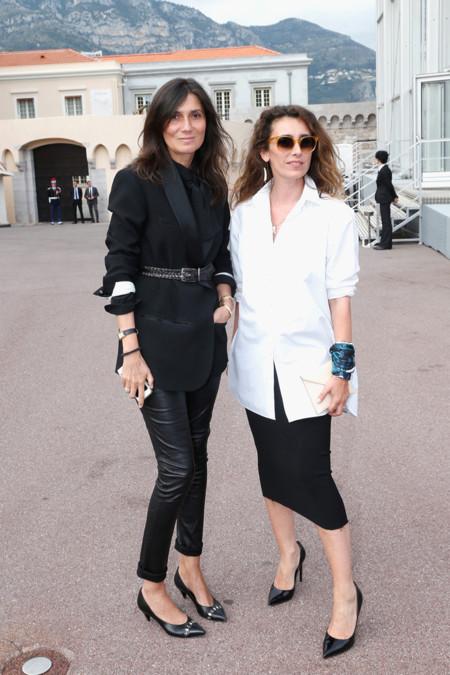Emmanuelle Alt en el desfile de Louis Vuitton