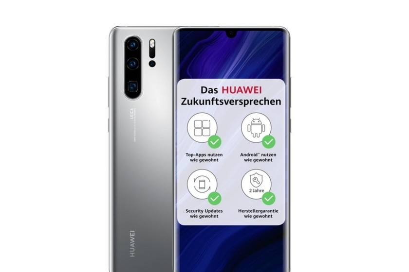 Huawei P30 Pro New Edition: the same smartphone from last year with Google apps, now with the finish ... thumbnail