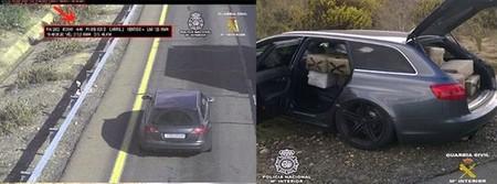 Audi RS6 Avant lleno de hachis