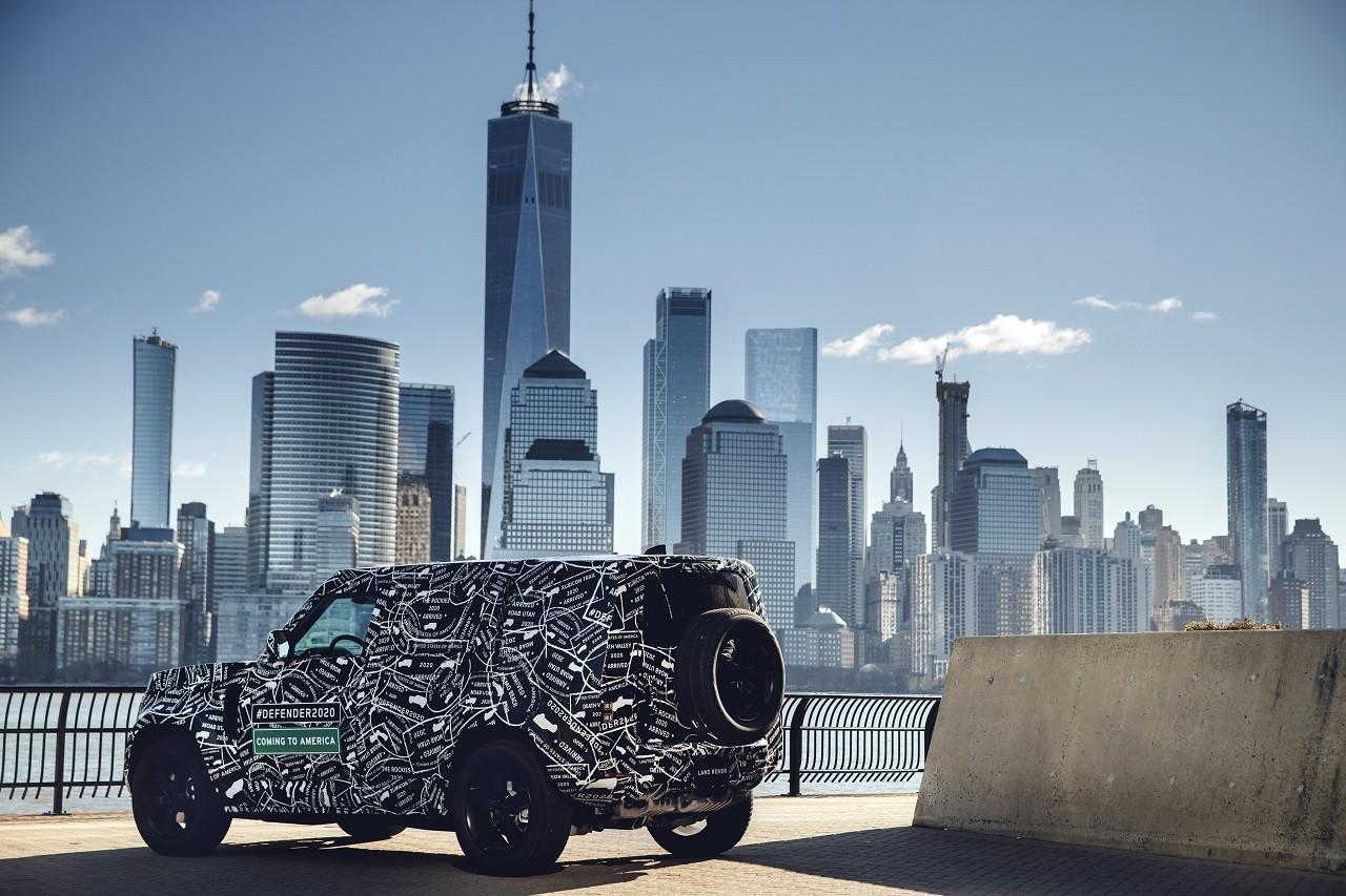 Foto de Land Rover Defender 2020 primeras fotos oficiales (15/24)