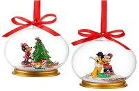 Adornos navideños de los personajes de Disney