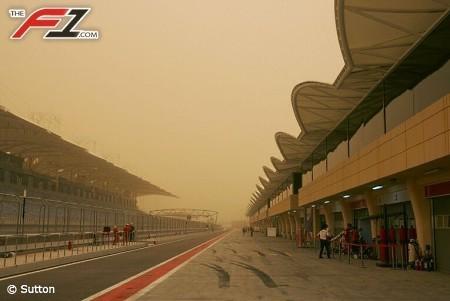 En Bahrein tampoco se escapan del temporal
