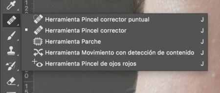 02 Vamos A La Herramienta De Pincel Corrector