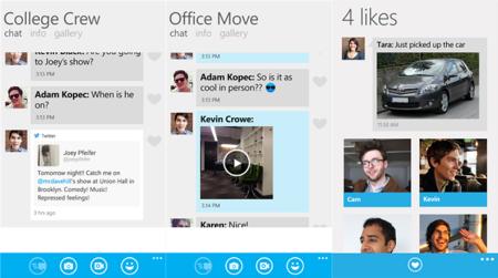GroupMe ahora permite compartir donde estas y mejora algunas características anteriores