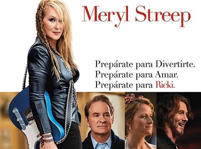 Cartel de la película 'Ricki'