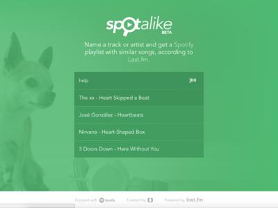 Spotalike, o cómo crear playlists en Spotify con canciones similares a nuestras favoritas