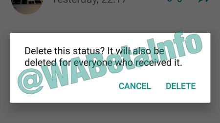 Borrar un Status de WhatsApp