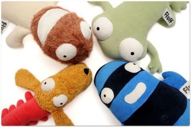 Fluff, muñecos para ayudar a los niños a superar sus miedos