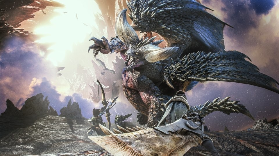 Monster Hunter World sigue imparable y ya supera los 13 millones de unidades vendidas