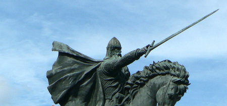 Se han descubierto en Burgos las ruinas de la casa del Cid Campeador