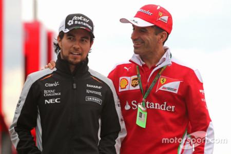 Algo nos dice que Checo Pérez podría ser piloto de la escudería Ferrari para la temporada 2017
