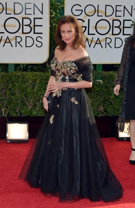Jacqueline Bisset look globos de oro 2014