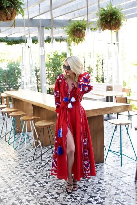 Blair Eadie Red Dress 1