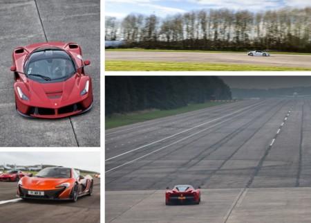 Conducir los McLaren P1, LaFerrari y Porsche 918 Spyder será posible en 2016