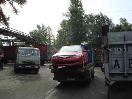 Dolorpasión™: Achatarramiento de Mazda nuevos en Rusia