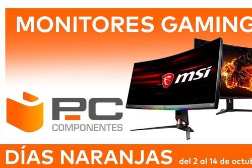 Las mejores ofertas en monitores gaming de los Días Naranjas de PcComponentes: 13 modelos de Acer, AOC, ASUS, Dell, MSI o ViewSonic a precios rebajados
