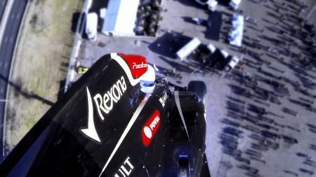 """Stig y Lotus nos muestran cómo hacer """"puenting"""" con un Fórmula 1"""
