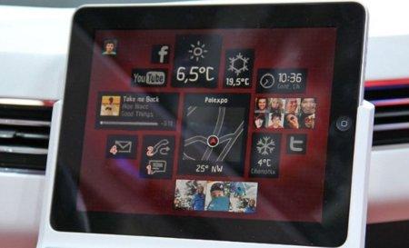 Volkswagen Bulli integración iPad coches