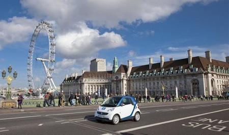 Car2go se retira de Reino Unido por problemas culturales