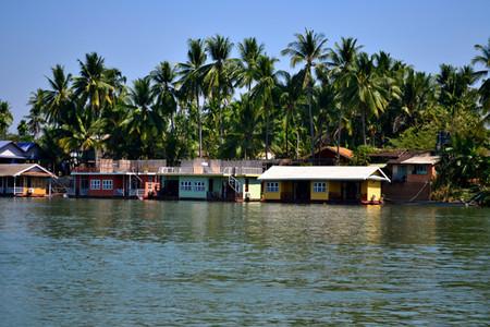 Vista del Mekong, en Don Det
