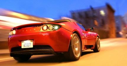 Tesla Roadster: galería de imágenes y video de su test de choque