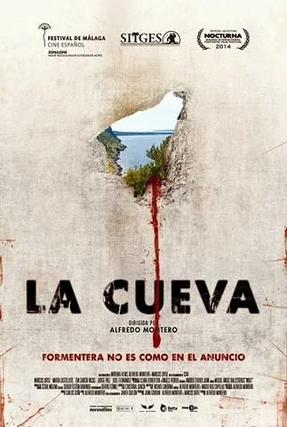 'La cueva', tráiler y cartel de la película de terror española