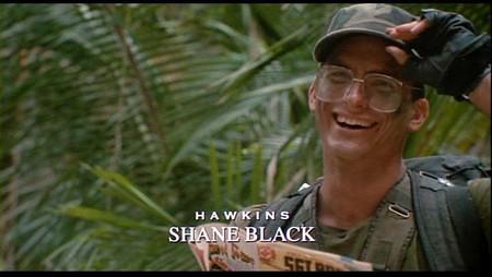 Shane Black en la Depredador original