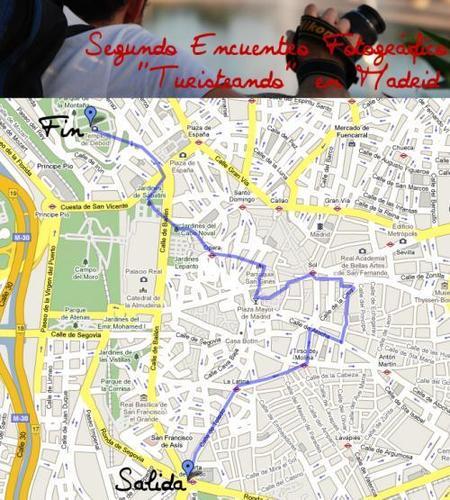 """2º Encuentro Fotográfico """"Turisteando"""" en Madrid"""