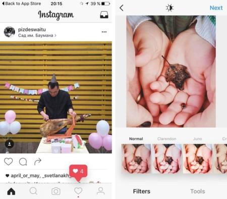 Instagram está probando un nuevo diseño para cambiar su imagen completamente