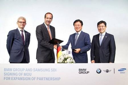 BMW y Samsung SDI firman un acuerdo para el suministro de baterías