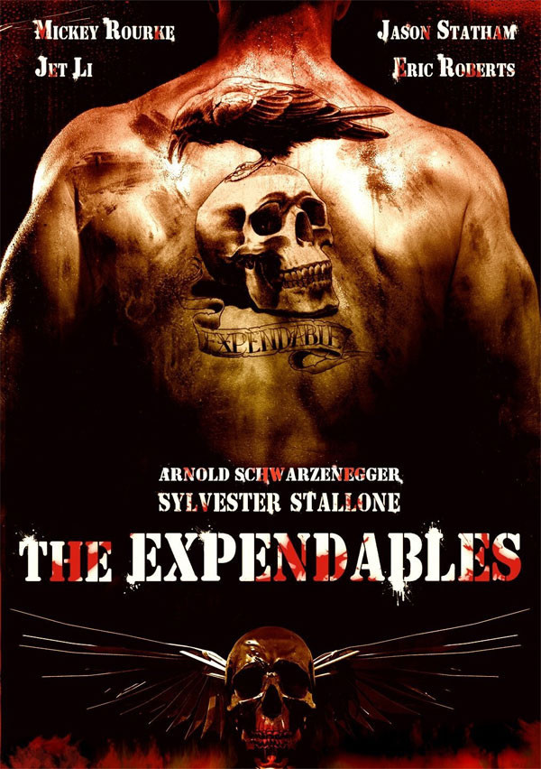 'The Expendables', carteles