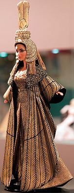 Exposición de Barbies que recoge la historia de la moda y del cine