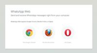 WhatsApp Web abandona su exclusividad con Chrome y llega a Firefox y Opera