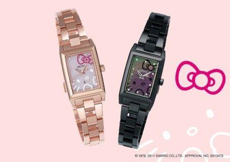Relojes Seiko de Hello Kitty