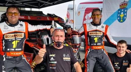 Ramilo Blanco Dakar 2021