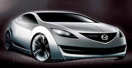 Boceto del Mazda6 Coupé