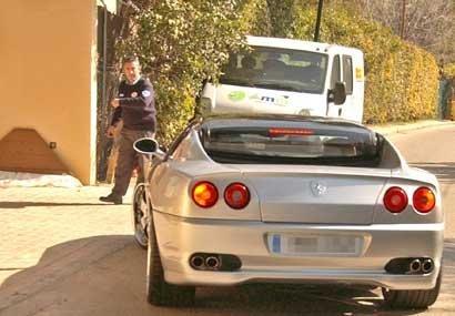 Ferrari de Beckham