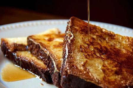 tostada francesa con miel
