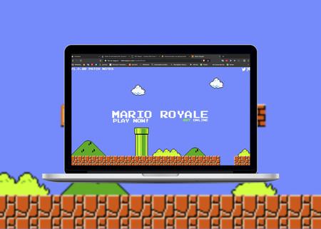 Crean un Super Mario Bros en formato Battle Royale, gratis, con partidas de 75 jugadores y accesible desde el navegador