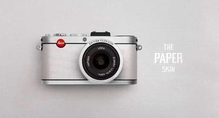 Leica X2 Fedrigoni, edición limitada de 25 unidades hechas de papel