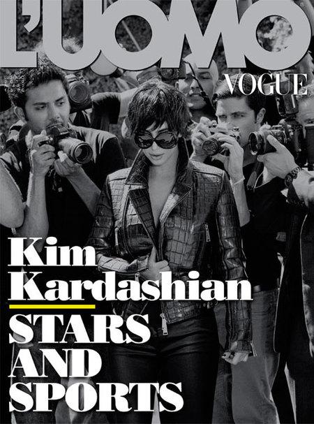 Cuando Kim Kardashian se convirtió en su madre en L'Uomo Vogue