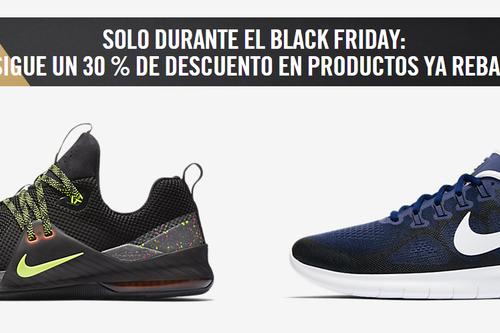 Nike Black Friday 2017: Mejores ofertas y descuentos