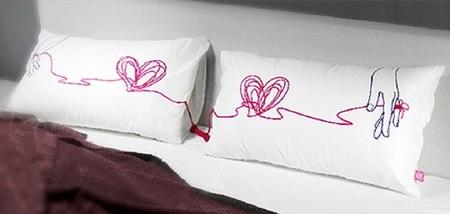 Las almohadas Amor, ideales para San Valentín